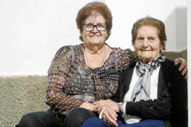 Antonia Guasch «será la primera en cumplir 100 años en Sant Miquel»