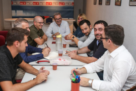 Comisión ejecutiva de la FSE que se reunió ayer en Vila