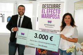 El Grupo Ambiseint da un donativo de 3.000 euros a la Asociación Asperger Ibiza y Formentera