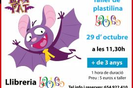 Bat Rat protagoniza el taller de plastilina de la librería Baobab