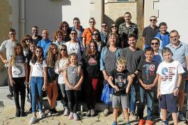 Sant Antoni recibe a los corredores de Tossa de Mar
