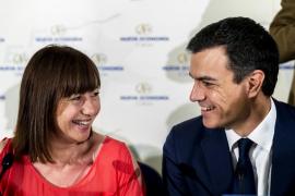 Armengol anima a Sánchez y le asegura: «Nos mantendremos leales a los votantes»