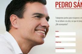 Sánchez inicia su campaña para «reconstruir» el PSOE creando una web para recoger apoyos