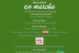 Palma corre contra el cáncer en la carrera solidaria de la AECC