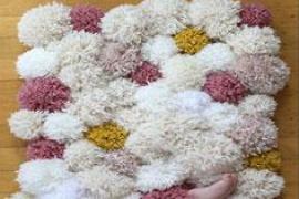 Taller de pompones de lana en Abacus