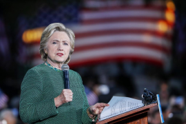Trump reduce la distancia con Clinton a ocho días de las elecciones
