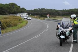 Accidente mortal en la carretera de Maó a Fornells