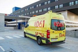 Concentración de trabajadores de ambulancias