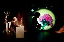 Teatro, marionetas, sombras y proyecciones en Sa Màniga con 'El petit príncep'