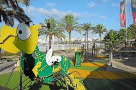 Finalizadas las mejoras en dos parques infantiles de Sant Antoni