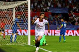 El Sevilla golea al Dinamo Zagreb pero no certifica su pase a los octavos