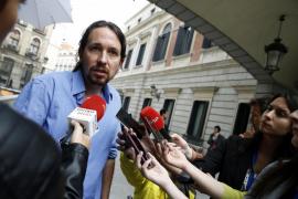 Pablo Iglesias se vuelca con Ramón Espinar en plenas primarias de Madrid