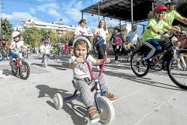 Este domingo la ciudad de Ibiza se volverá a llenar de bicicletas