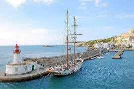 APB destina 115.000 euros para reformar el Muro del puerto de Ibiza