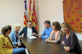 Sant Josep y Amadiba firman el convenio para crear la escuela de educación especial