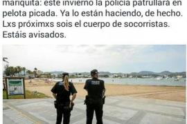 El tripartito se mofa de que los policías locales no tengan uniforme de invierno