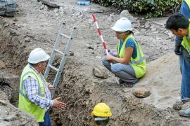 Encuentran restos arqueológicos de la etapa romana en las obras de la Plaza del Parc