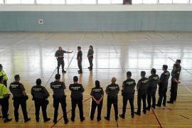 La Guardia Civil se pone al día con sesiones de formación en Can Coix