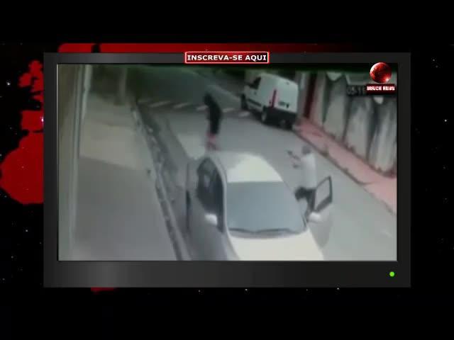 Un policía brasileño conductor de Uber mata a tres jóvenes que lo atracaron