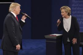 Las últimas encuestas dan una ventaja a Clinton de entre 3 y 4 puntos sobre Trump