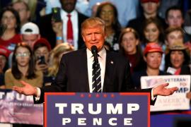 Trump denuncia que «muchos sondeos están mal a propósito»