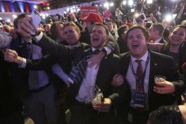 Trump se encamina a la Casa Blanca con victorias en la mayoría de los estados clave