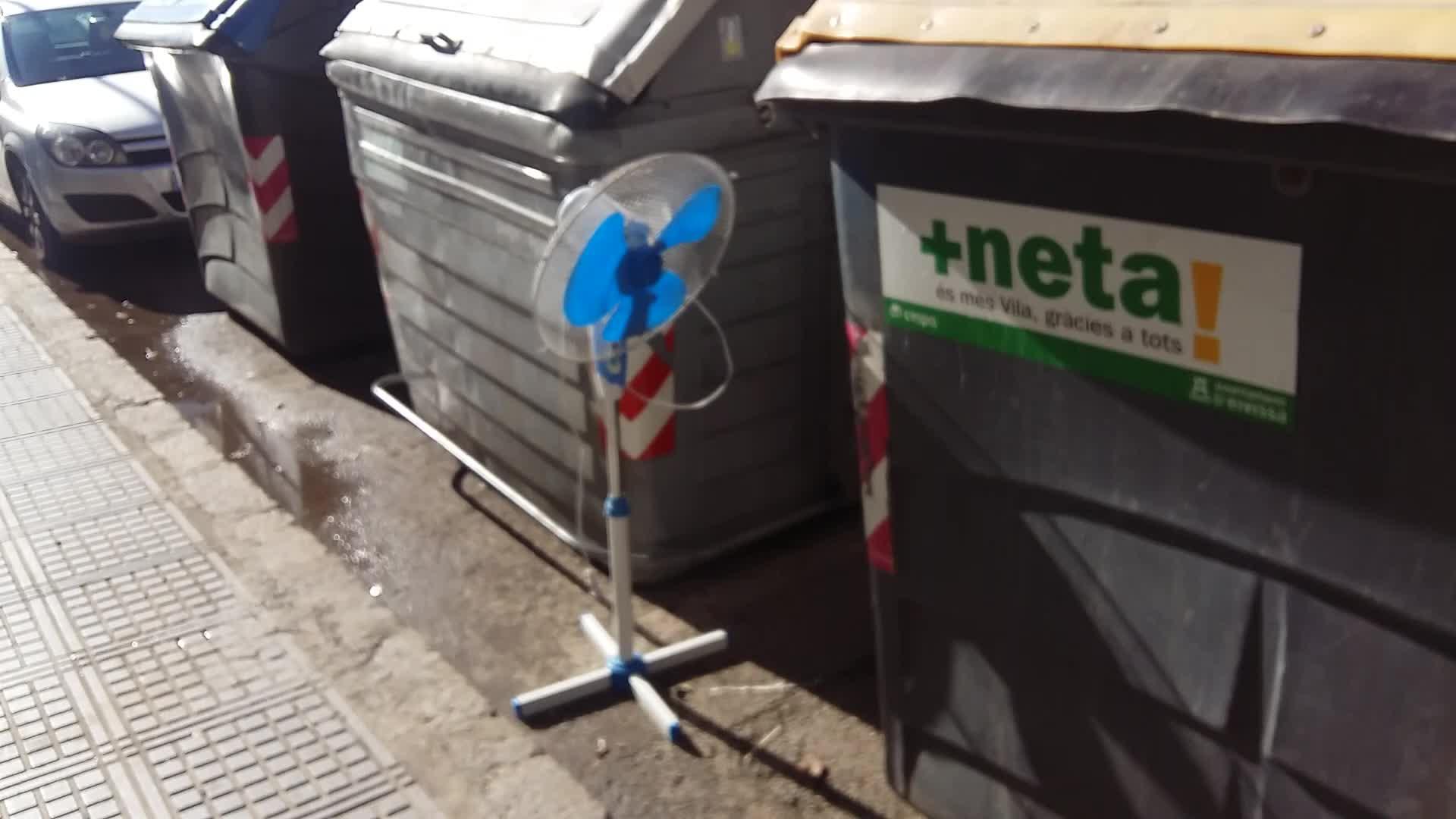 El misterio del ventilador que funciona sin estar enchufado en Vila