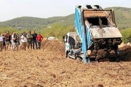 Santa Eulària gasta 141.000 euros en tratar los lodos de la depuradora gestionada por el Govern