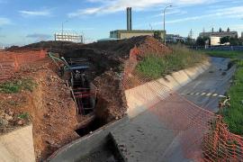 Las obras de Red Eléctrica en el Camí Vell de Sant Mateu terminarán este mes
