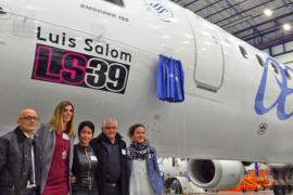 Air Europa recuerda a Luis Salom