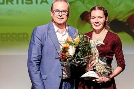 Cristina Ferrer, la mejor de 2015
