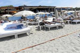 Ibifor solicita a Sant Josep que prolongue las concesiones de playa para alargar la temporada