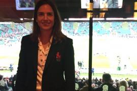La española Alhambra Nievas, nombrada mejor árbitro del mundo de rugby