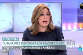 Susana Díaz sobre las primarias del PSOE: «Vísteme despacio que tengo prisa»