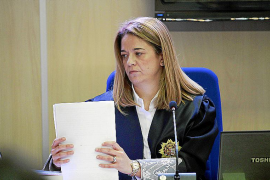La dedicación exclusiva de la ponente de Nóos en la sentencia acaba en 20 días