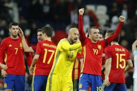 Isco y Aspas rescatan un agónico empate ante Inglaterra