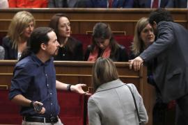 Pablo Iglesias, a Felipe VI: «No estamos aquí por ser hijos de nadie ni tener sangre azul»