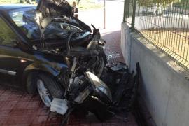 Un joven ingresado al ser atropellado en Sant Antoni