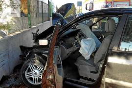 Tres heridos en dos aparatosos accidentes en Sant Antoni y Cala Tarida