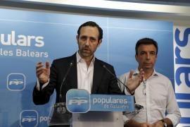 Bauzá reúne a su grupo y le comunica su intención de volver a presidir el PP balear