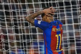 El Barça, sin Messi, empata ante el Málaga