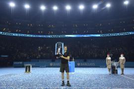 Murray se proclama campeón del Masters en un partido histórico contra Djokovic