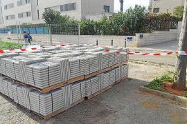 Vila inicia las obras de construcción de aceras en diferentes barrios