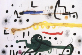 Aumenta el fondo de la Fundació Pilar i Joan Miró con quince pinturas