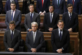 Rajoy lamenta la muerte de Barberá: «Estoy enormemente apenado»