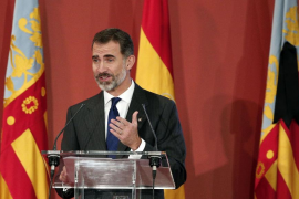 El Rey expresa su «más sincera condolencia» por la muerte de Rita Barberá