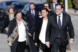 Rajoy afirma que fue un «honor» ser amigo de la «generosa, afable y luchadora» Rita Barberá