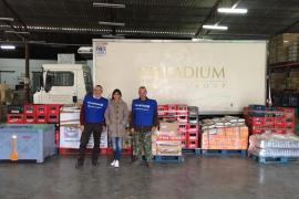 La Fundación Abel Matutes aporta los primeros 1.000 kilos de la Gran Recogida del Banco de Alimentos