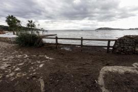 Los efectos del temporal en Talamaca