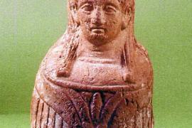 Un exvoto de Tanit, pieza del mes en el Museo Monogràfic de Puig des Molins
